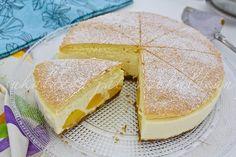 e-cocinablog: tarta de requesón y melocotón