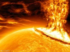 Solar storm   5 Ways The World Might End In The Mayan Apocalypse
