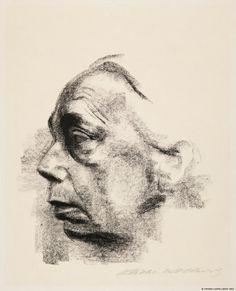 Käthe Kollwitz, Omakuva sivulta 1927