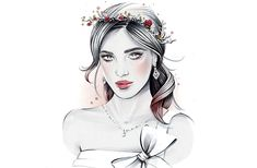 6 Easy DIY Floral Crown Hairstyles: Plus—how to do your makeup if you're wearing a floral crown.