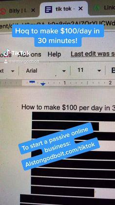 Online Earning, Earn Money Online, Online Jobs, Teen Life Hacks, Useful Life Hacks, Ways To Earn Money, Way To Make Money, How To Make, Small Business Marketing