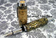 Schimmel Fine Pen – A steampunk pen made from vintage watch parts