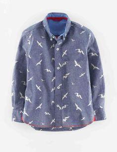 Indigo Shirt 21827 Shirts at Boden
