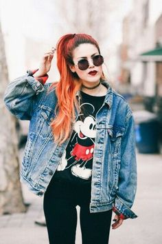Luanna Perez is my biggest grunge fashion icon hands dooooown. Grunge Outfits, 90s Fashion Grunge, Edgy Outfits, Mode Outfits, Punk Fashion, Fashion Outfits, Style Fashion, Fashion Trends, Neo Grunge