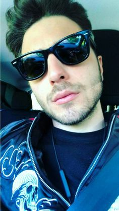 Wearing glasses.Face book -Gianluca Ginoble-