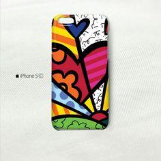 ROMERO BRITTO iPhone 5C Cover Case