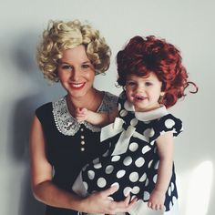 I love lucy and Ethel costume | My twin girls | Toddler ...