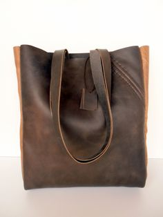 Market Bag, Leather Tote Bags, Brown Leather Totes, Travel Bags, Brown  Leather 4aec68d22a6