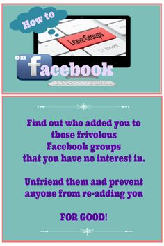 Leave Facebook Groups For Good! [Video]
