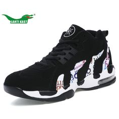 65595b5fa83f LANTI KAST Men Basketball Shoes High Quality Popular Athletic Lace Up Sport Shoes  Mens Breathable Non-slippery Wearable Sneakers - Sport Shoes Apparel