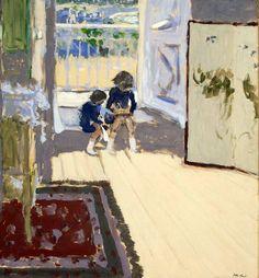 children in a room -- Vuillard
