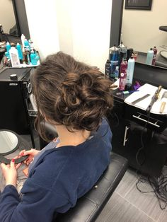 Updo by Bianca