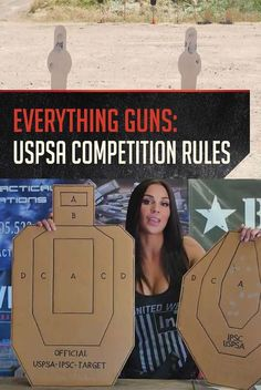 Shooting Competitions: Rules for USPSA Competition Shooting by Gun Carrier at http://guncarrier.com/uspsa-competition-shooting/