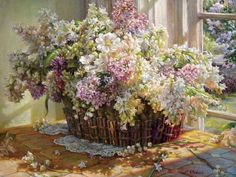 Painting by Helene Beland