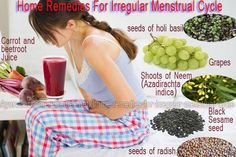 Period issues...here is some help