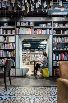 Panta Rhei & Cafe Dias Bookstore +caffee designed by at26_architects