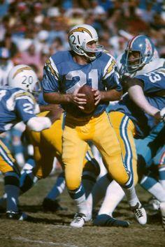 John Hadl 1972...love these uniforms