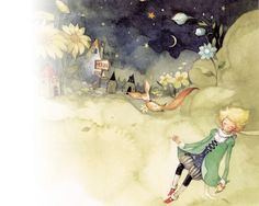 Kim Minji - The Little Prince Kim Min Ji, Music Wallpaper, The Little Prince, Decoupage Paper, Children's Book Illustration, Alice In Wonderland, Illustrators, Fairy Tales, Art Drawings