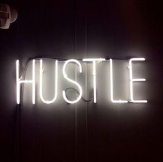 Here's some fun neon light inspiration to spark your creativity - HUSTLE…A-Z Home Decor Trend Neon Signs - Alice T. Quotes To Live By, Me Quotes, Motivational Quotes, Quotes Inspirational, Neon Signs Quotes, Lady Quotes, Hustle Quotes, Pink Quotes, Boss Quotes