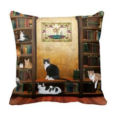 104 Best Cat Pillow Images Cat Pillow Pillows Cats