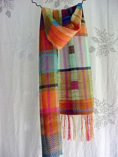 corn moon scarf / 3 | by Avalanche Looms