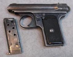 J.P. Sauer & Sohn M13 Pocket Pistol 6.35 or 25ACP Find our speedloader now!  http://www.amazon.com/shops/raeind