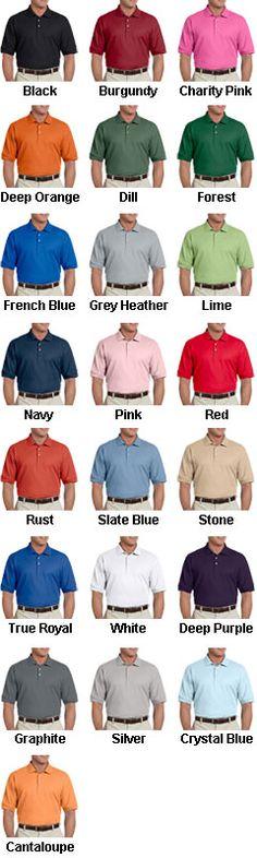 Mens Pima Piqué Short-Sleeve Polo - All Colors