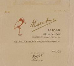 100 år,  historiska bilder, Choklad, marabou