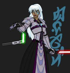 Darth Kida - Sith Princess WIP by ~JosephB222 on deviantART