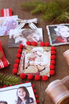 Easy & Easier: DIY Photo Ornaments | minted.com/julep