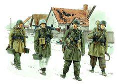 Panzergrenadiers Wiking Division Hungary 1945