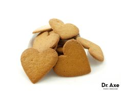 This gluten free gingerbread cookies recipe is delicious! It satisfies sweet cravings without the processed sugar! Try it today!
