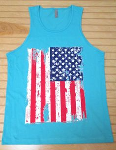 80035b554 Men's Jersey Tank Top Made In America USA Flag 4th by CustomTsCorp, $21.00.  Taylor Fleck · Plain Shirts