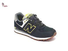 New Balance 574 Noir Et Vert