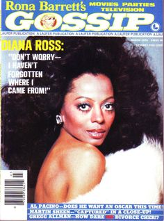 Rona Barrett's Gossip, March 1976 — Diana Ross