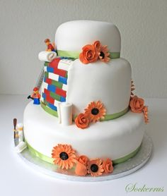 Another great Lego wedding cake.