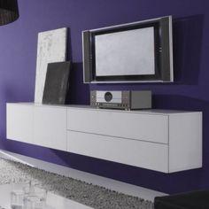 zwevende tv meubels van tv-kast.nl on Pinterest  TVs, Html and Design