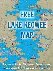 Lake Keowee Map FREE Lake Keowee Guide Map visit: .lifeonkeowee.  Things we  Lake Keowee Map