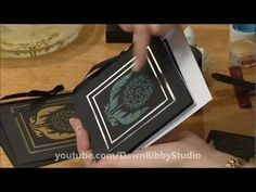Dawn Bibby - Dreamweaver Stencils, Gilding Flakes, Embossing & Crackle Pastes https://www.youtube.com/watch?v=0czBII5sjws