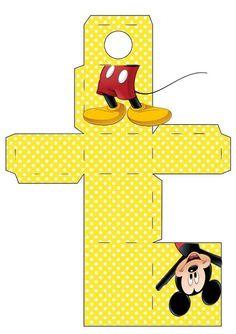 Porta tubetes do Mickey