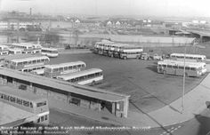 Derby Bus Station 1973 Bus Coach, Bus Station, Local History, Derbyshire, Coaches, Buses, Paris Skyline, British, Travel