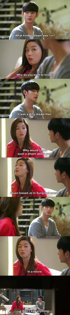 LOL.  ~ My Love From Another Star