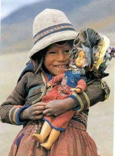 Coisas de Terê . with a doll