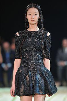 Spring 2011 Paris Fashion Week: Alexander McQueen | POPSUGAR Fashion
