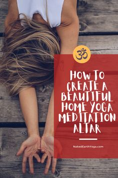 Learn how to create or build a beautiful home yoga meditation altar for your meditation or yoga practice. Meditation Altar, Beautiful Homes, Naked, Earth, Learning, Create, Inspiration, House Of Beauty, Biblical Inspiration