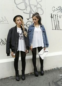 18 Popular Teen Girls Street Style Fashion Ideas This Season Street Style Outfits, Mode Outfits, Fashion Outfits, Womens Fashion, Fashion Trends, Hipster Outfits, Fashion Ideas, Grunge Fashion, Look Fashion