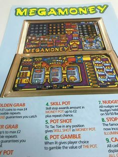 Mega-Money fruit machine