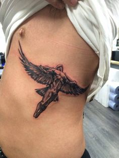 Icarus from greek mythology done by Greg