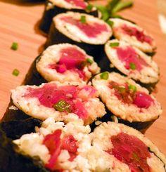 Spicy-Faux Tuna Maki. Avec deshydrateur