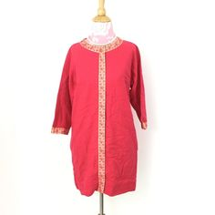 """1960s Saks wool tunic dress True Vintage 1960's tunic dress. No size/fabric tag. From Saks Fifth Ave. Feels like wool blend. Measurements laid flat: bust 19""""/ length 32.5"""". Great condition. Tiny spot on front and tiny tear (see last pic) Vintage Dresses Mini"""